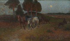 Paesaggio con animali
