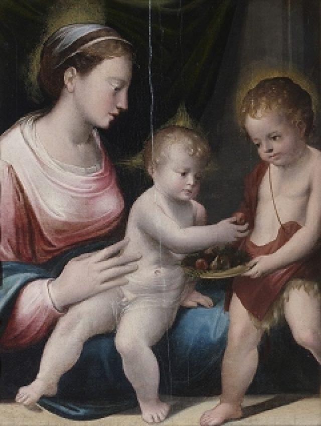 Madonna con Bambino e San Giovannino