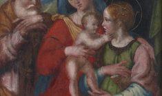 Sacra famiglia con Santa Caterina d´Alessandria