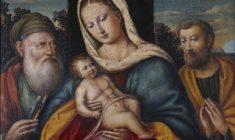 Madonna con Bambino San Giuseppe d´Arimatea e Simeone