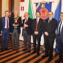 Conferito il premio speciale Aquila di Ferro al Presidente della Fondazione Cassa di Risparmio di Ravenna