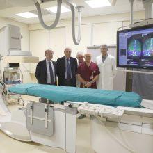 Sanità. Fondazione Cassa di Risparmio di Ravenna dona un nuovo angiografo digitale all'Ospedale